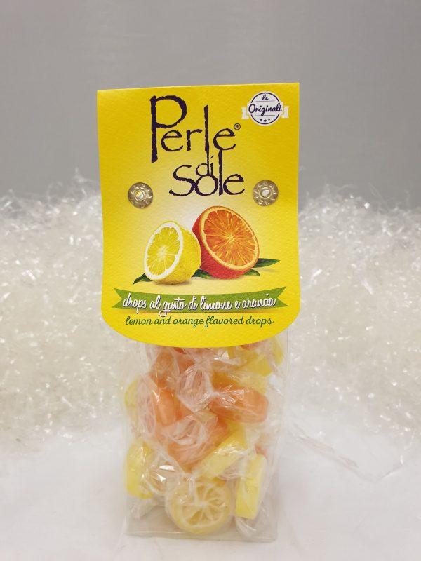 caramelle perle di sole limone e arancia